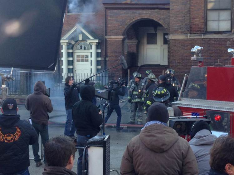 Shooting Chicago Fire