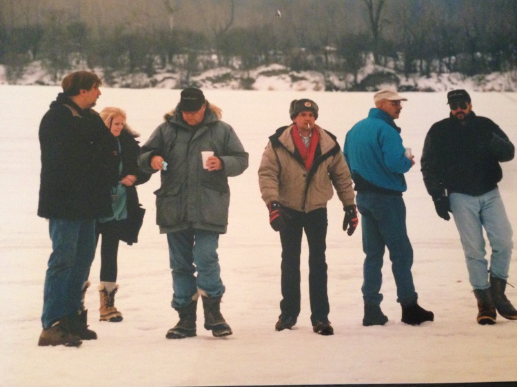 Yes, We are on a Frozen Lake and No, We're not Happy about it...