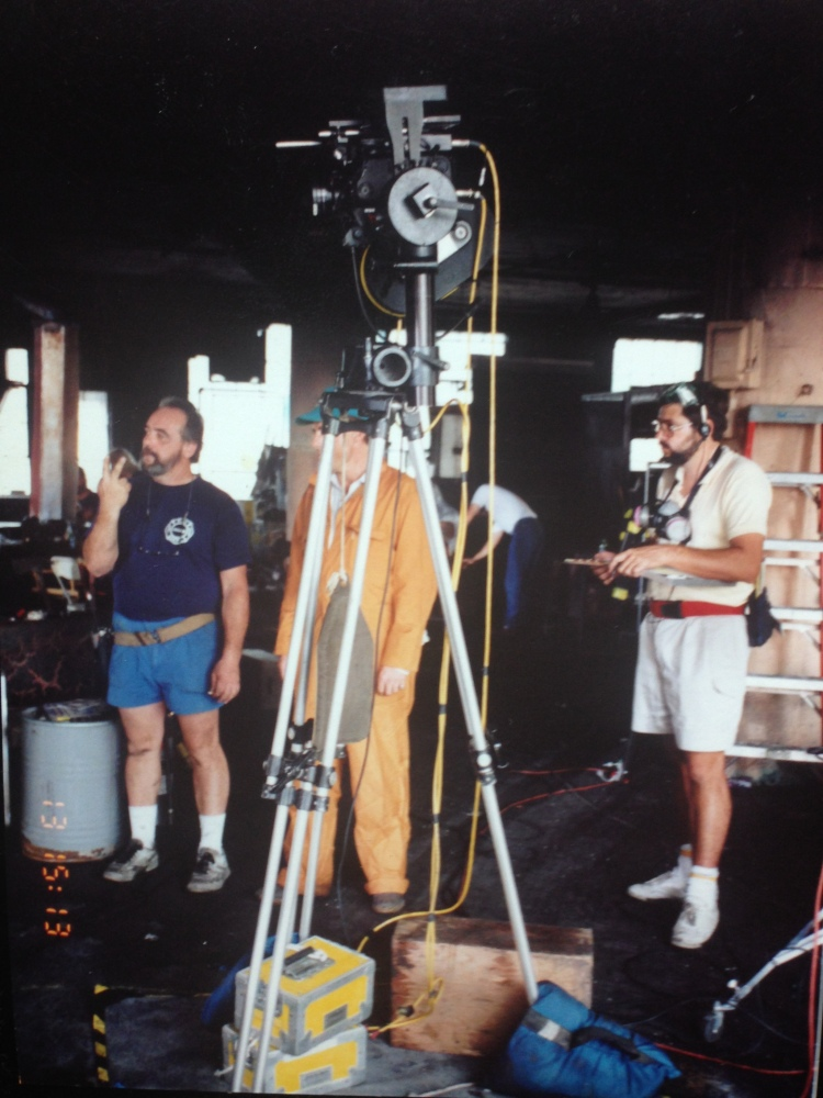 On set, Backdraft